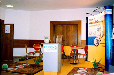 Ferring (Nefrologický kongres Poprad 2006, 15m2)