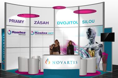 Novartis (SKS Bratislava 2009, 20 m2)
