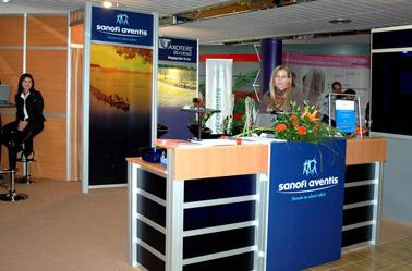 Sanofi Aventis (Onkologicky kongres Bratislava 2006, 25m2)