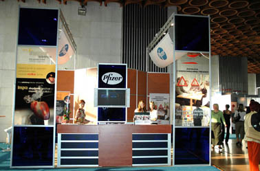 Pfizer (Kardiologicky kongres Bratislava 2006, 20m2