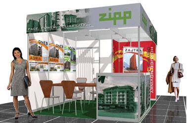 Zipp (Veľtrh Slovrealinvest 2006, 18m2)