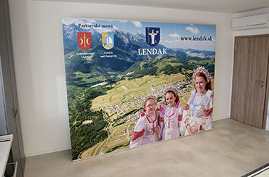 EURObanner light 3m Lendak